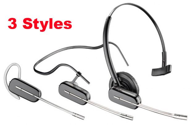 Plantronics W740 Savi Headset Styles