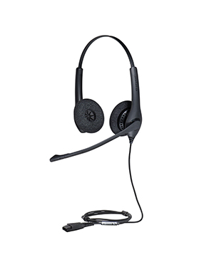 Jabra BIZ 1500 Quick Disconnect Duo Headset (1519-0153)