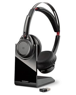 Plantronics Voyager Focus UC BT Headset with Charge Stand