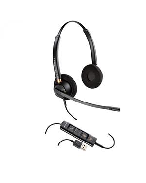 Plantronics EncorePro HW525 Stereo Hardwired USB Headset