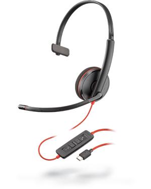 Plantronics Blackwire C3210 Monaural USB-C Headset