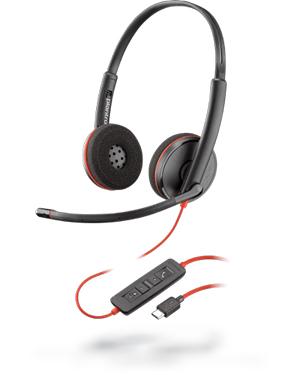 Plantronics Blackwire C3220 Stereo USB-C Headset 209749-101