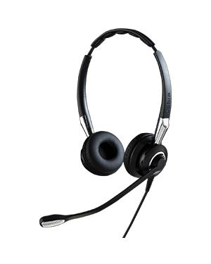Jabra BIZ 2400 II Duo QD Headset (BIZ 2400-2425, NC) (2409-820-205)