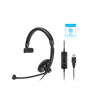 Sennheiser SC 40 USB MS BLACK Wired Headset (506498)