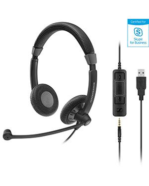 Sennheiser SC 75 USB MS Wired Headset (507086)