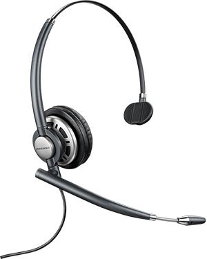 Plantronics HW710 EncorePro Wideband Mono NC Headset (78712-101)