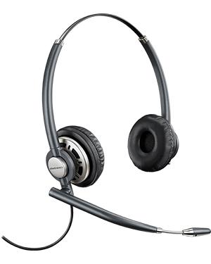 Plantronics HW720 EncorePro Wideband Binaural Noise-Cancelling Headset (78714-101)