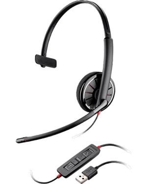 Plantronics Blackwire C310-M/Lync Monaural USB Headset