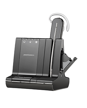 Plantronics Savi W745 Convertible DECT Headset Package