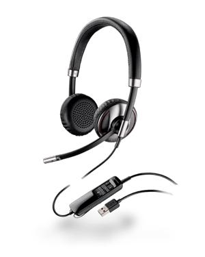 Plantronics Blackwire C720-SFB/Lync Foldable USB Headset