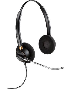 Plantronics HW520 EncorePro OTH Wideband Binaural Noise-Cancelling Headset (89434-11)