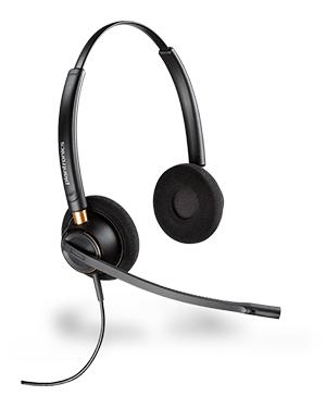 Plantronics HW520 EncorePro OTH Wideband Headset (89436-11)