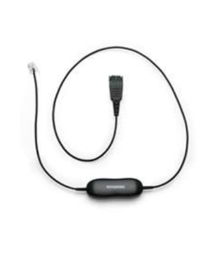 Jabra GN 1200 Smart Cord 1m Straight - Use your Jabra headset with phones with headset jack! (88001-99)