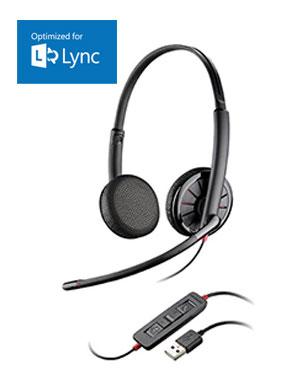 Plantronics Blackwire C325-M Binaural USB PC Headset (200263-01)