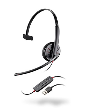 Plantronics Blackwire C315 Mono USB PC Headset (200264-02)