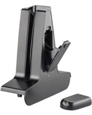 Plantronics Base Deluxe Charging Kit (Base Deluxe Cradle + Battery Bundle) for W740 and W440 (84601-01)