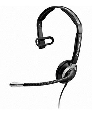 Sennheiser CC515 IP Over the Head Monaural Wideband Headset (504015)