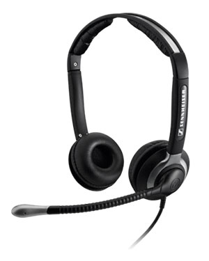 Sennheiser CC550 Over the Head Binaural Headset (05361)