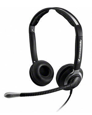 Sennheiser CC550 IP Over the Head Binaural Wideband Headset (504017)