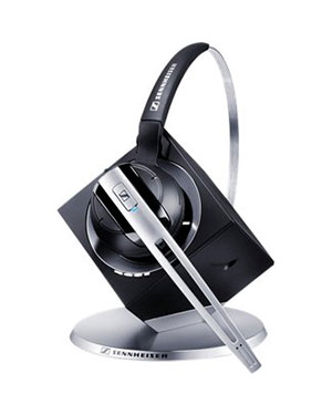 Sennheiser DW 10 Aus Phone DECT Wireless Office Headset (504433)