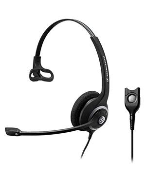 Sennheiser SC232 Wideband Monaural Headset NC (504409)