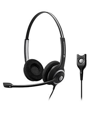 Sennheiser SC260 Wideband Binaural Headset NC (504402)