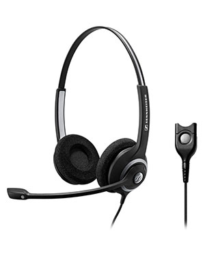 Sennheiser SC262 Wideband Binaural Headset NC (504410)