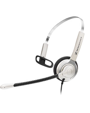 Sennheiser SH330 IP Over the Head Monaural Wideband Headset (504013)