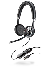 Plantronics Blackwire C725 USB Corded Stereo Headset (202580-01)