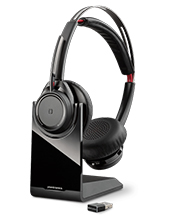 Plantronics Voyager Focus UC-M BT Headset with Charge Stand