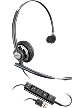 Plantronics EncorePro HW715 Monaural Hardwired USB Headset