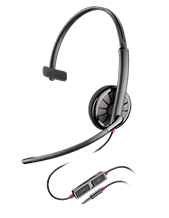Plantronics Blackwire C215 Monaural Single 3.5mm Headset
