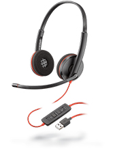 Plantronics Blackwire C3220 Stereo USB Headset (209745-101)