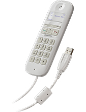 Plantronics Calisto P240 White Handset (For Cisco DX Series)