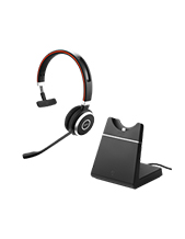 Jabra EVOLVE 65 MS Mono Headset with Charging Stand (6593-823-399)