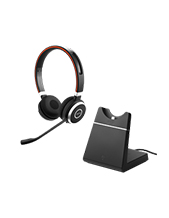 Jabra EVOLVE 65 MS Stereo Headset with Charging Stand (6599-823-399)