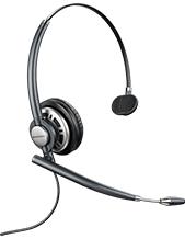 Plantronics HW710 EncorePro Wideband Monaural Noise-Cancelling Headset (78712-101)