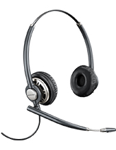 Plantronics HW720 EncorePro Wideband Binaural Noise-Cancelling Headset (78714-101)