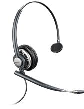 Plantronics EncorePro HW710D Monaural Headset (6-pin QD)