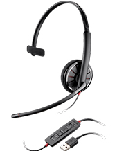Plantronics Blackwire C310 Monaural USB Headset (85618-102)