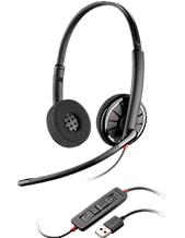 Plantronics C320 Microsoft Lync Stereo USB Headset