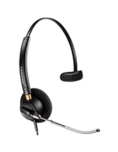 Plantronics EncorePro HW510 OTH Voice Tube Monaural Headset
