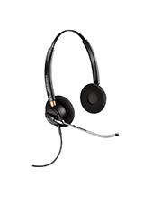 Plantronics EncorePro HW520 OTH Voice Tube Binaural Headset