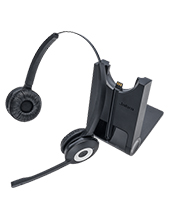Jabra PRO 920 Duo Wireless Deksphone Headset (920-29-508-103)