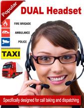 Dual Boom Transmit Headset (92715-01)