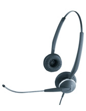 GN Netcom GN2125 Telecoil Headset for Special Needs & Hearing Aid (2127-80-54)