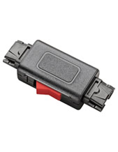Plantronics In-Line Mute Switch Quick Disconnect Connector H-Series Headsets (27708-01)