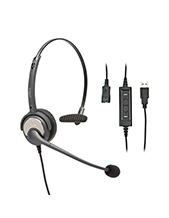 Polaris Soundpro USB Plus Monaural Headset (SU10P)