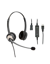 Polaris Soundpro USB Plus Binaural Headset (SU20P)