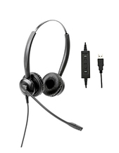 Polaris Soundpro USB Binaural Headset (SU20)